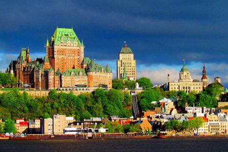 El viejo Quebec, encanto francés en Canadá