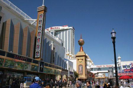Atlantic City, ciudad del juego en EE.UU.