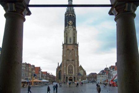 Guía de iglesias en Delft