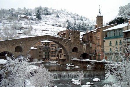 Camprodon, a los pies de los Pirineos en Gerona