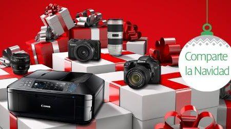 Estas navidades, reembolso de 200 euros en equipos Canon