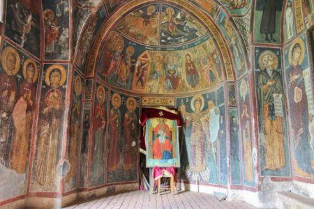 Las iglesias pintadas de Troodos en Chipre