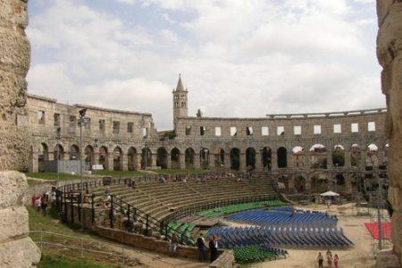 Pula, joya romana en Croacia