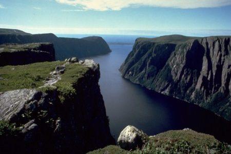 El Parque Nacional de Gros Morne en Canadá