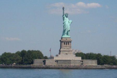 4 de julio del 2013, reapertura de la Estatua de la Libertad