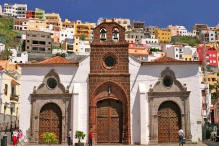 San Sebastián de La Gomera, capital de la isla
