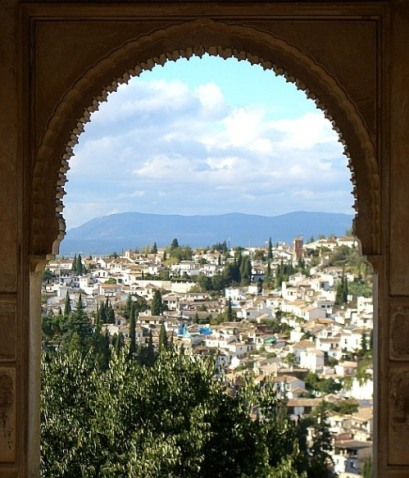 Albaycin desde la Alhambra
