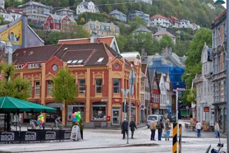 Visitando Bergen, ciudad noruega