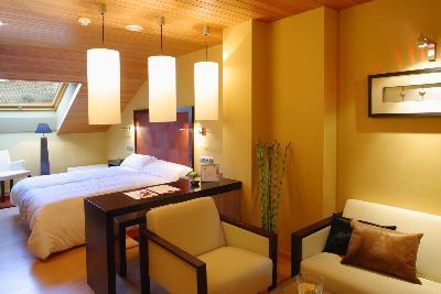 Habitación del Hotel Fruela