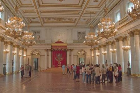 El Museo del Hermitage, en San Petersburgo