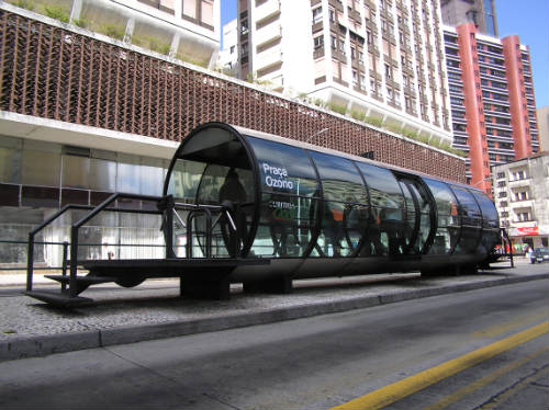 Curitiba red de transportes