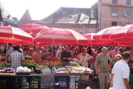 Dolac, pintoresco mercado de Zagreb