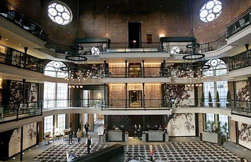 Hotel Malmaison Oxford interior
