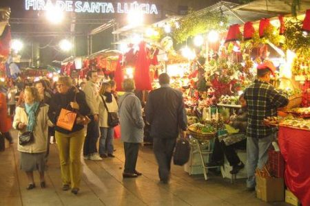 Llega la Feria de Santa Lucía a Barcelona