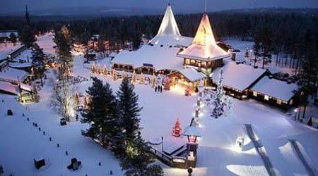 El Pueblo de Papá Noel en Rovaniemi