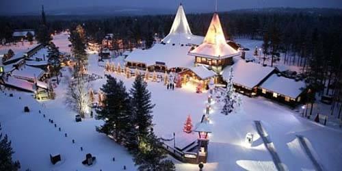 Pueblo de Santa Claus en Rovaniemi