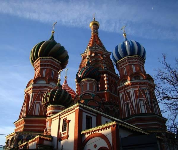 Catedral de San Basilio en Moscu