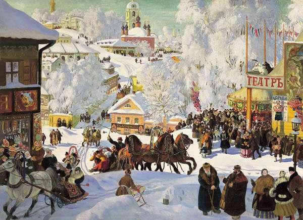 Maslenitsa en Rusia