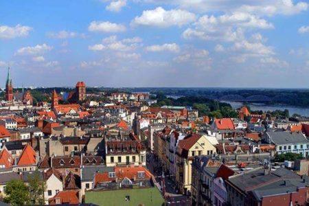 Paseando por Torún, en Polonia