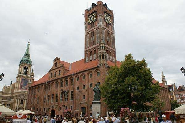 Torún en Polonia