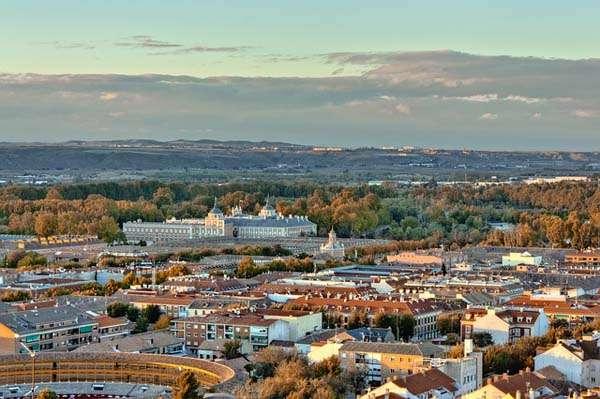 vista de Aranjuez