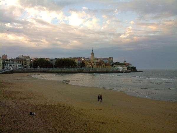 Gijón - playa de San Lorenzo