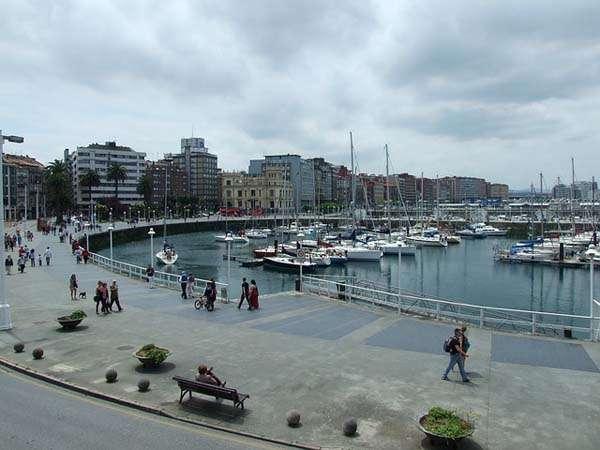 Gijón - puerto