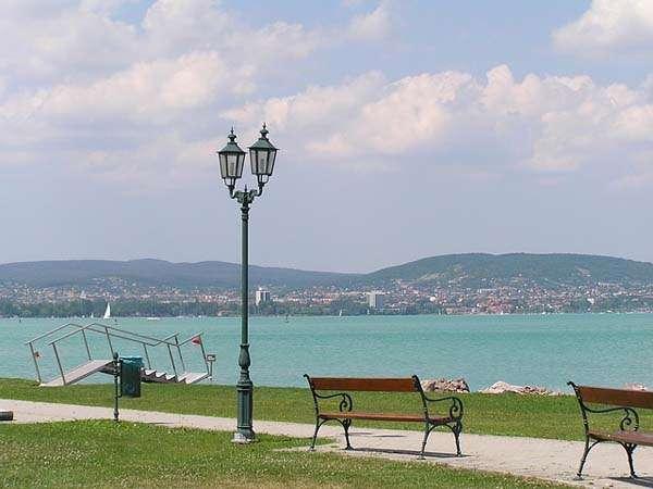Lago Balatón en Hungría