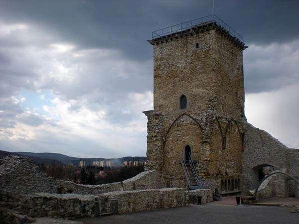 Castillo de Diosgyor en Miskolc