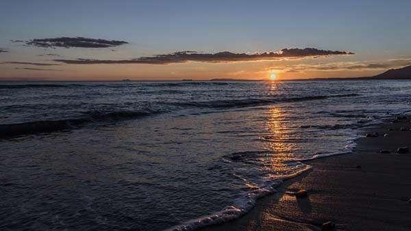Playa en Calahonda - atardecer