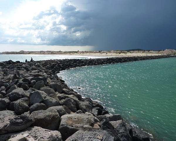 Cap d'Adge Playa naturista en Francia