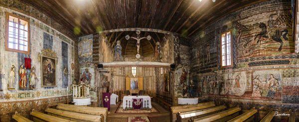 Iglesia de madera Hervartov