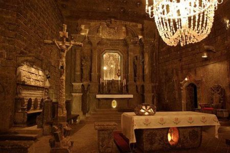Minas de Sal de Wieliczka: arte subterráneo