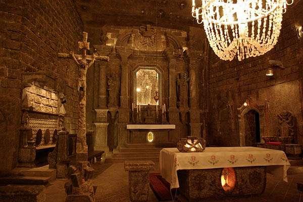 Minas de sal de Wieliczka - catedral