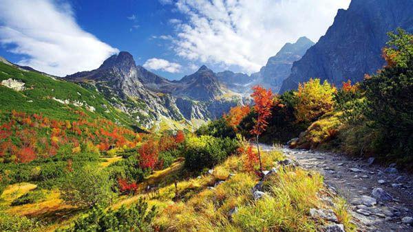 Montes Tatra Eslovaquia