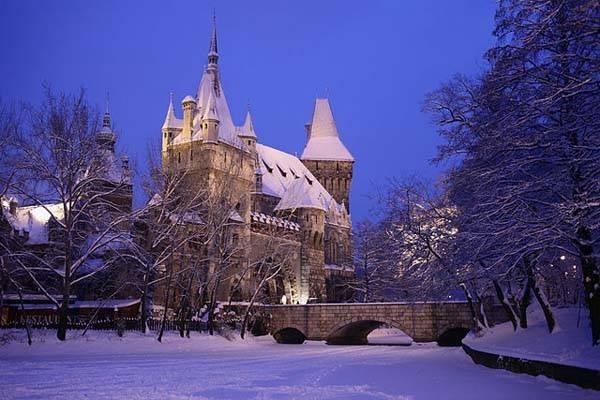 Castillo de Vajdahunyad en Budapest