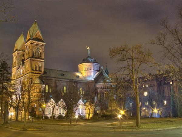 Monasterio franciscano en Katowice