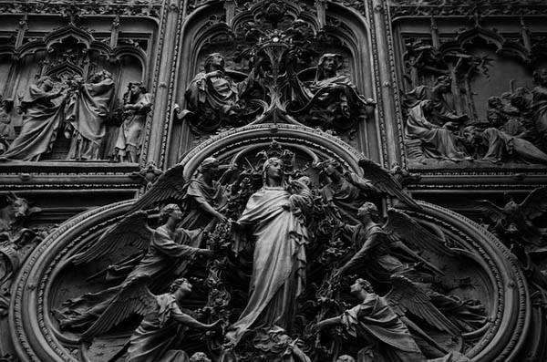 Duomo de Milán - detalle arquitectura