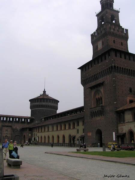 Visita al castillo Sforzesco en Milán