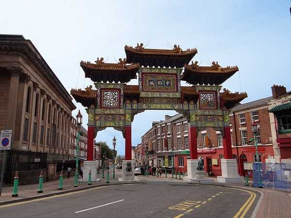 Chinatown en Liverpool