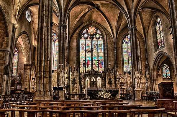 Interior de la Catedral de Limoges